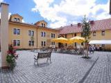 Pivovarský dvůr Plzeň - dvůr