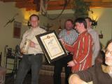 U Rybiček -ocenění pivní pečeť 2008
